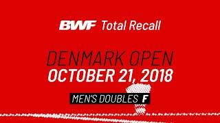 BWF Total Recall | Denmark Open 2018 | Men's Doubles F | BWF 2020