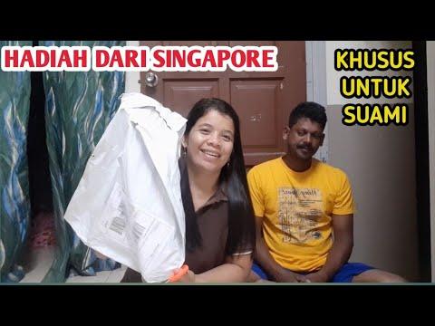 UNBOXING HADIAH DARI SAHABAT DI SINGAPORE|| KHAS UNTUK SUAMI SAYA