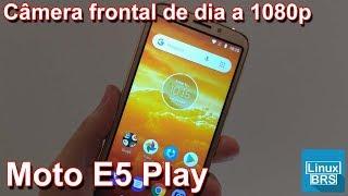Motorola moto E5 Play - Câmera frontal dia 1080p