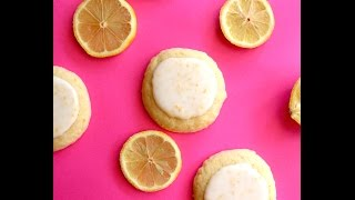 Soft Glazed Lemon Cookies - Easy 5 Ingredient Recipe