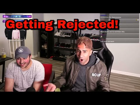 FouseyTUBE and friend talk about getting REJECTED in a Ferrari LIVE on stream *Hilarious*