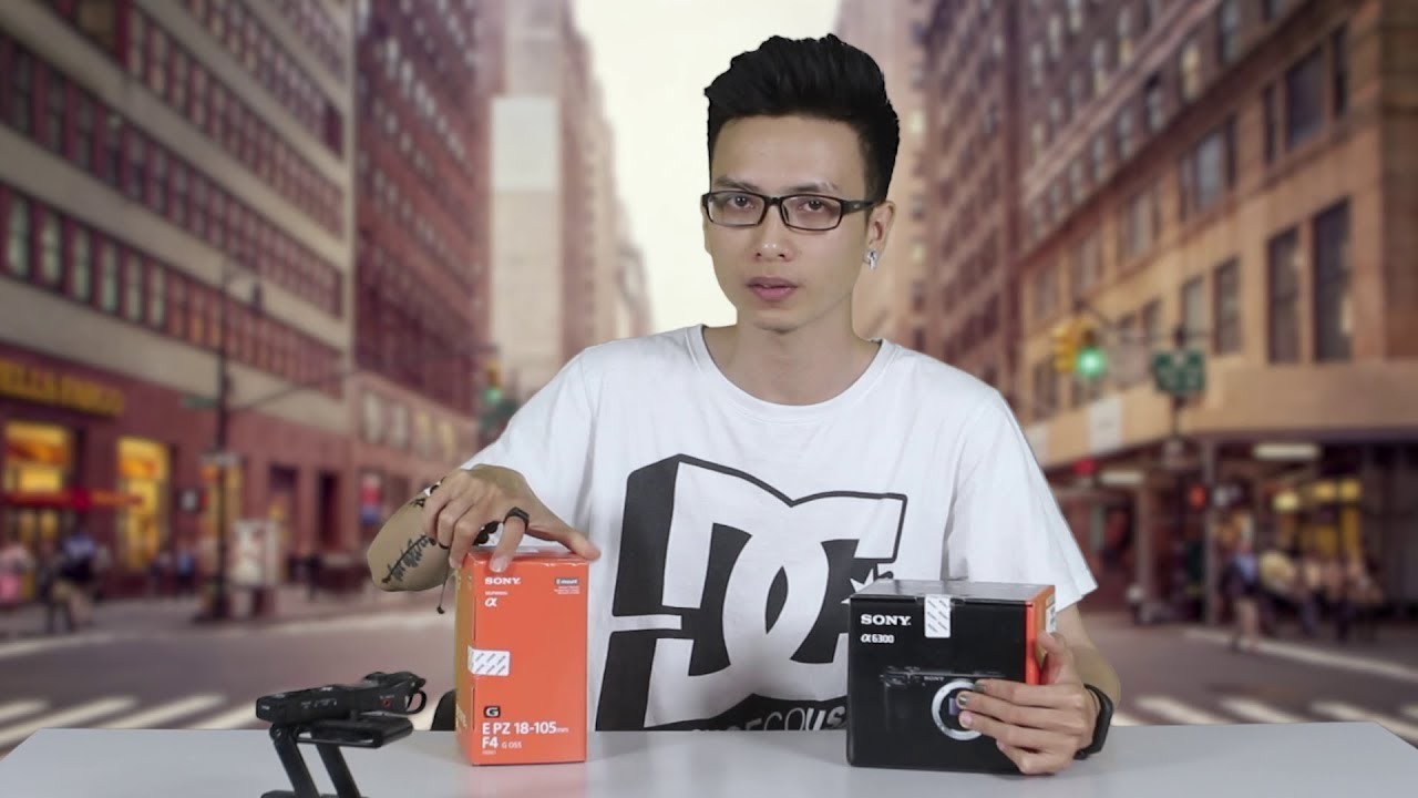 Mở hộp Sony A6300 – máy quay tốt nhất tầm giá dưới 20 triệu