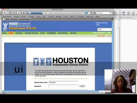 How To Check Your HISD email