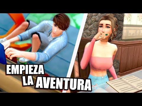 NOS PREPARAMOS PARA LA SELVA! | Ep.2 | Los Sims 4 ~ Aventuras en Jumanji