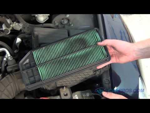 Air Filter Replacement Honda Accord 2003-2007