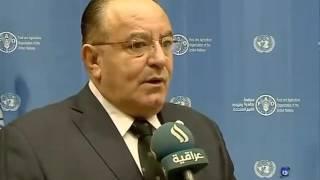 Dr Fadel Elzubi at IRAQIA TV 2016 WFD يوم الاغذية العالمي