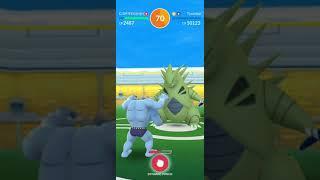 Pokémon GO 2018 07 16 Ttar raid - 4 man, 96 IV difficult catching thumbnail