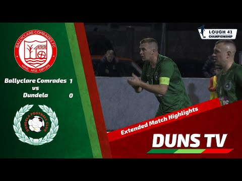 Ballyclare Dundela Goals And Highlights