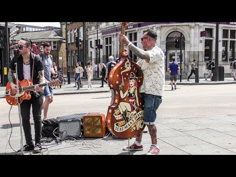 Rock & Roll On The Road. Street Music of Camden Town, London