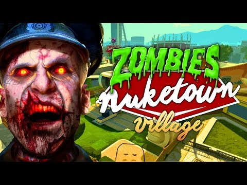 Nuketown Village Zombies (Call of Duty Black Ops 3 Zombies)