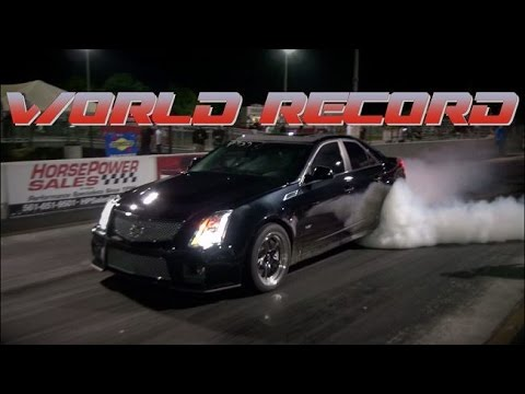 World's Fastest and Quickest Cadillac CTS-V - NEW RECORD