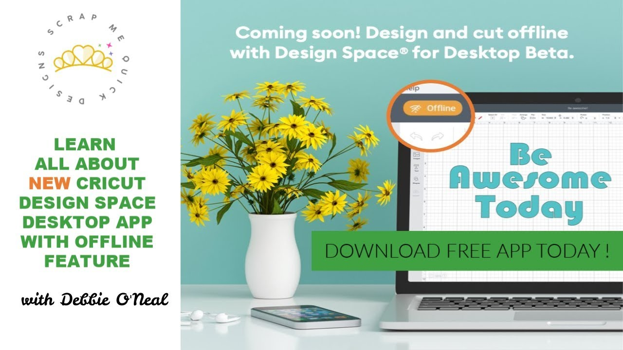 Cricut Design Space Desktop Beta App with Offline Announcement