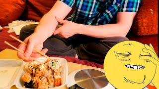 Славный Обзор. Sushi Time. ДА НЕ БОМБИТ У МЕНЯ!!!11(Сайт Delivery Club: http://goo.gl/XBIrf5 Приложение Delivery Club: https://goo.gl/7TMJ4O Инстаграм пепячника - @pepyachnic., 2015-08-31T17:53:05.000Z)