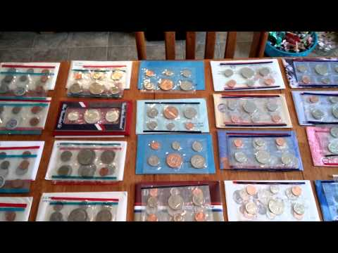 United States Mint Sets (57 Straight Years) 1959-2015