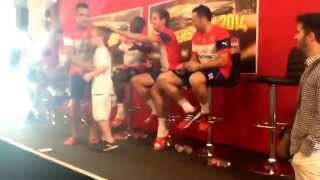 Alexis Sanchez Treats Fan On His 7th Birthday