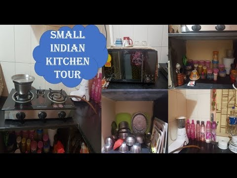 Small Indian Kitchen Tour Small Indian Kitchen Organize Kitchen Without Cabinets Youtube