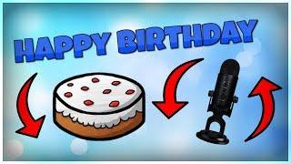 New Mic ASMR (Birthday Video)