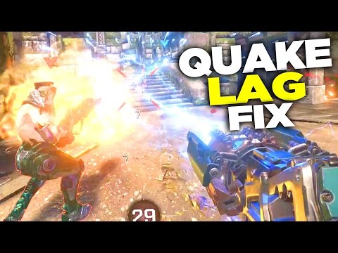 Quake Champions Netcode Lag is Due to FPS and Upload Speed (FIX)