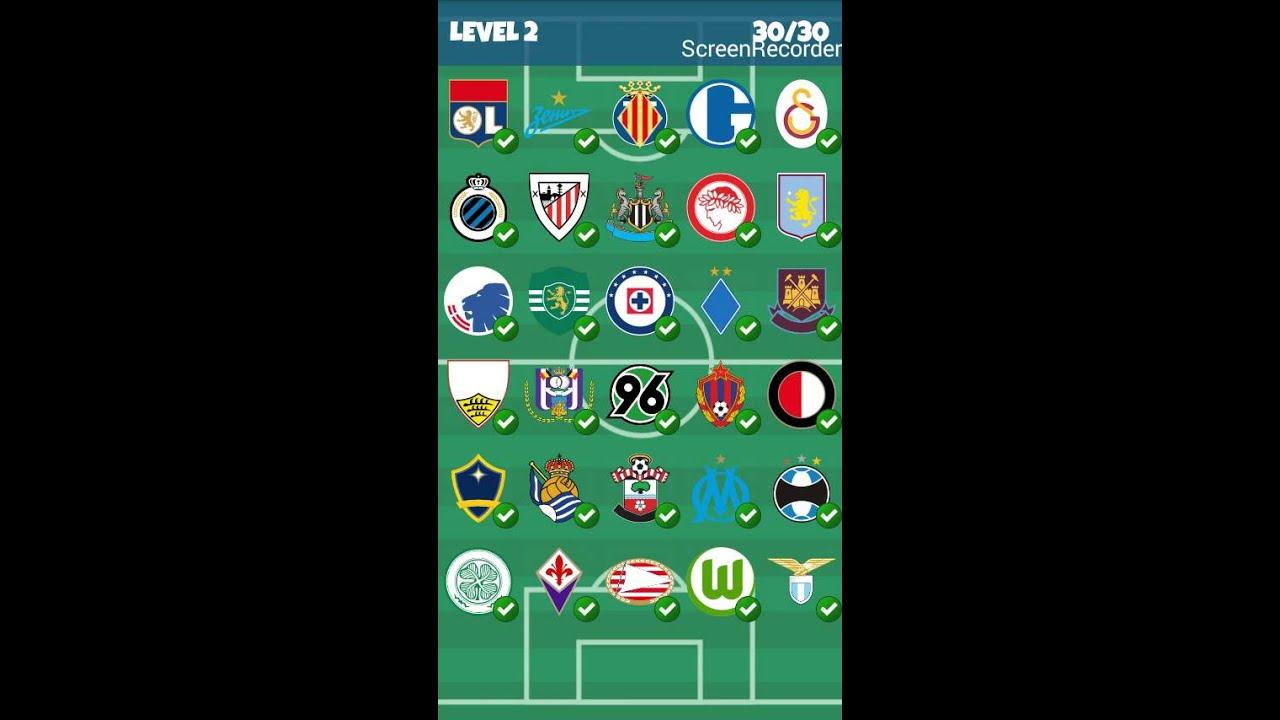 Ben noto Football Clubs Logo Quiz - Level 2 - YouTube JL36