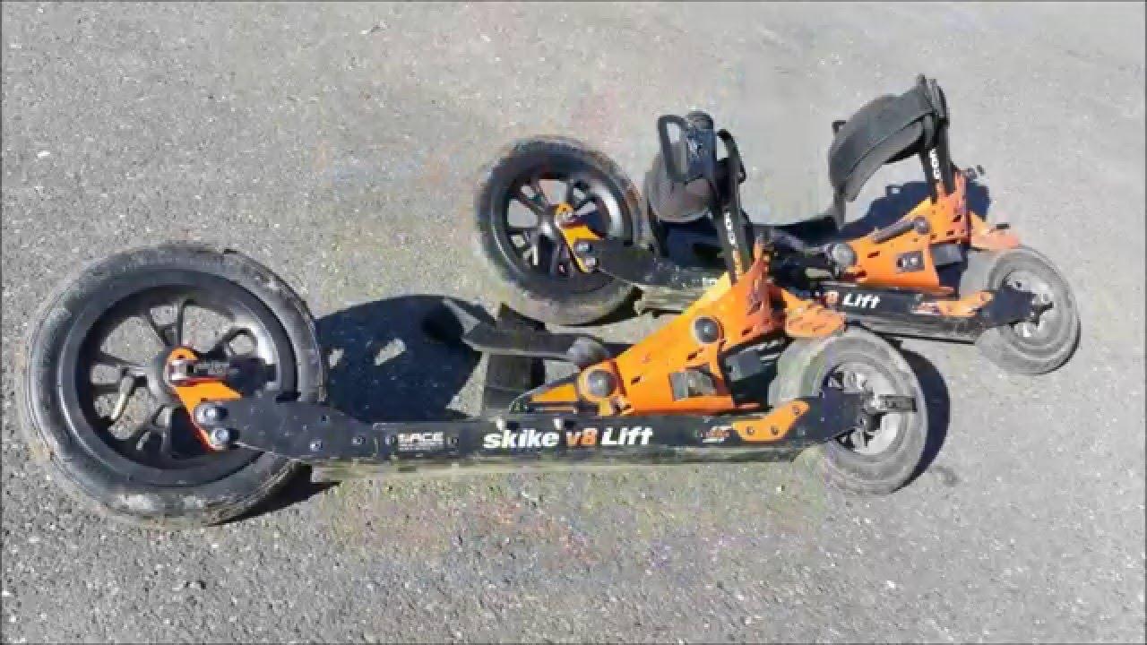 Mc A Test Skike V8 Lift Cross2r Avec Roues Pneumatiques