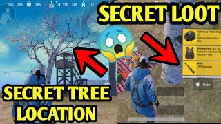 Where To Find Secret Cherry Blossom Tree in Every Map - PUBG mobile