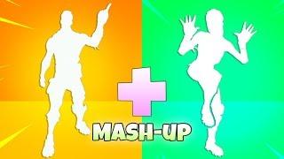 Fortnite Dance Emotes MASHUP! (Mixed Emotes = Perfect Emotes..!!) Fortnite Battle Royale