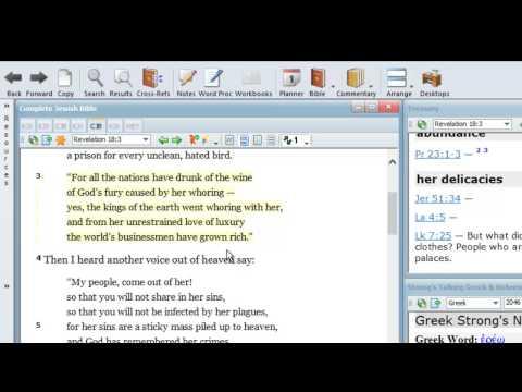 Revelation 18:3 Bible prophecy teaching