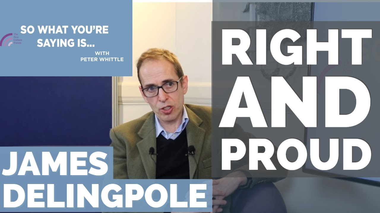 James Delingpole: Why Right is Right & the Left is Dangerous I So What  You're Saying Is