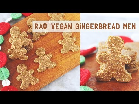 RAW VEGAN GINGERBREAD MEN COOKIES | Days Like Laura