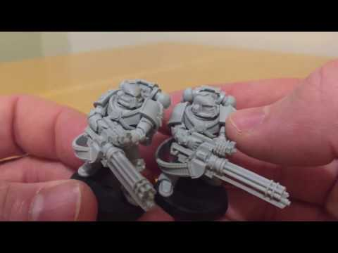 Legion Tactical Support Squad: MKIV Maximus Marine Armour by Forge World Model Review