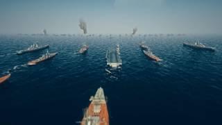 本格戦艦シミュレーションRPG!WW2の海戦をリアルに再現!