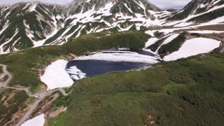 【ドローン空撮】立山室堂 みくりが池【4K】