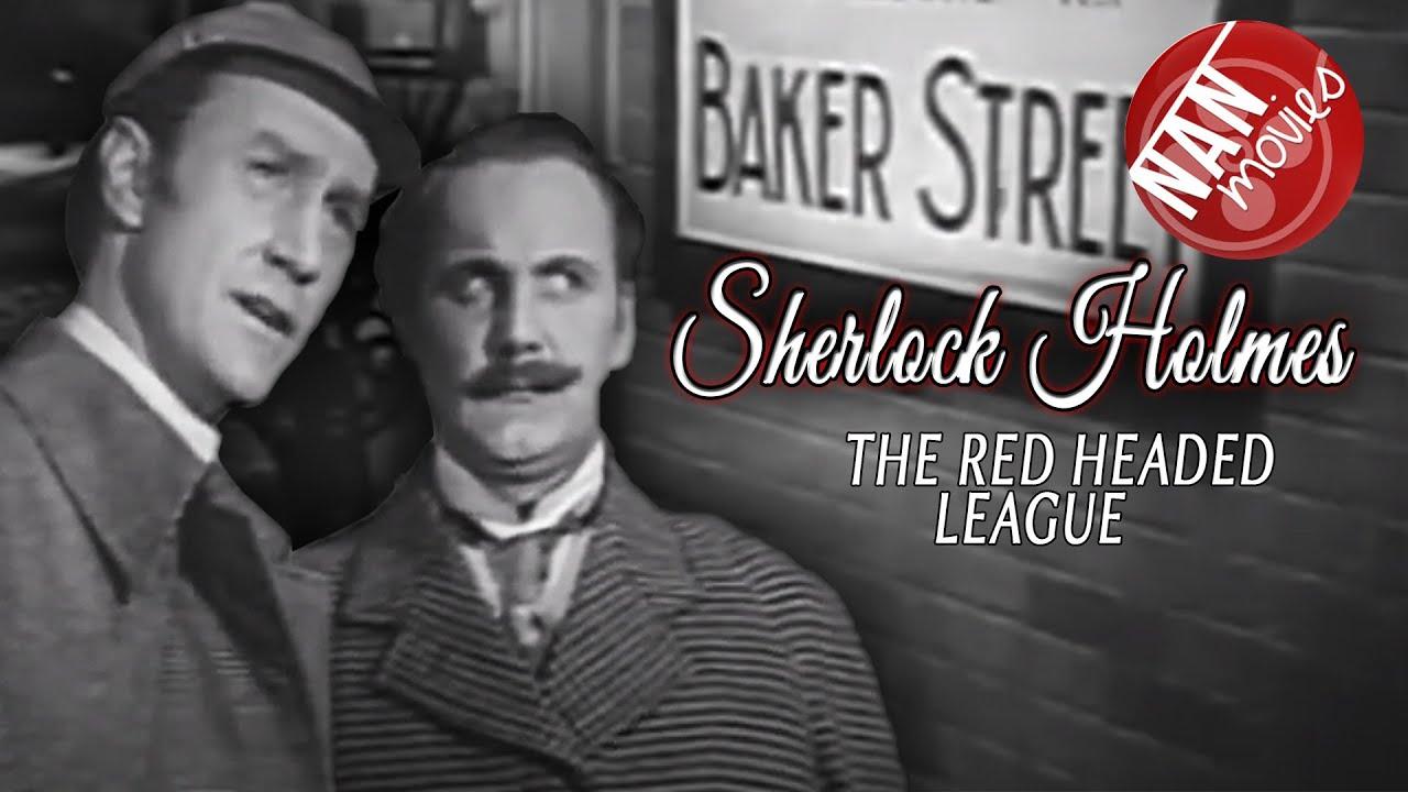 SHERLOCK HOLMES subtitulado español: THE RED HEADED LEAGUE | full free movie | CRIME