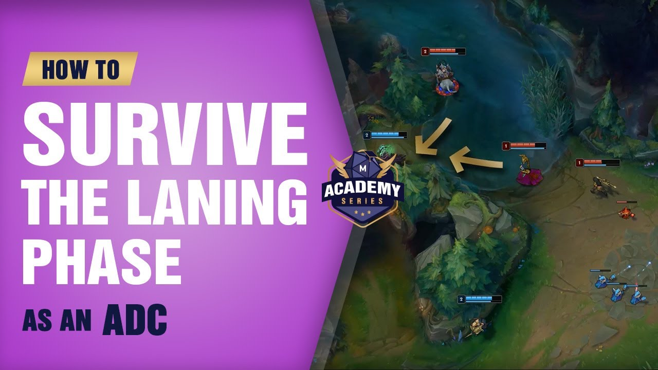How to Survive the Laning Phase as an ADC (Mobalytics Academy Series) -  League of Legends