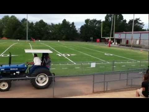 West Lincoln High School Tractor Parade