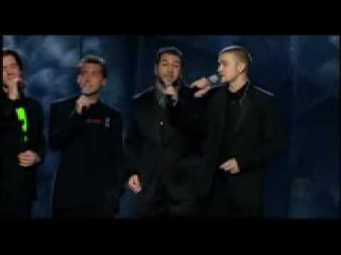 Grammy 2003 NSync - BeeGees Medley