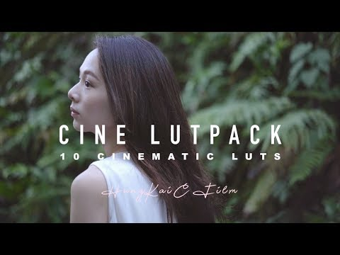 CINEMATIC LUT PACK FOR CINE1/2/3/4