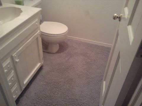 Carpet in the Bathroom Part 1