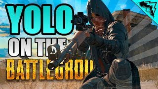 "MILITARY BASE ""YOLO on the Battlegrounds"" #4 PUBG Serious StoneMountain64 Gameplay"