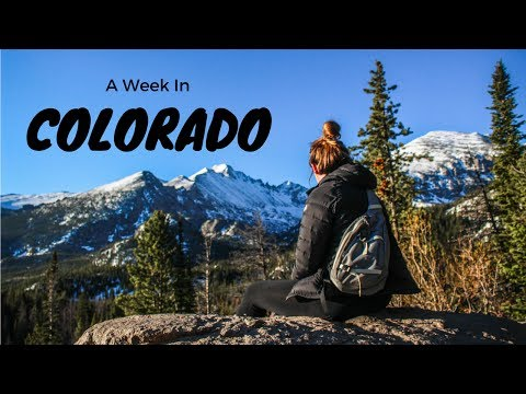 A Week in Colorado || Estes Park, CO