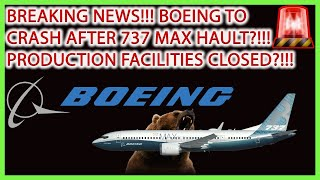 Boeing Stock Crash Soon After Delay In 737 Max Planes?!! Airline Stock Analysis!!🚨stock Market Live🎯