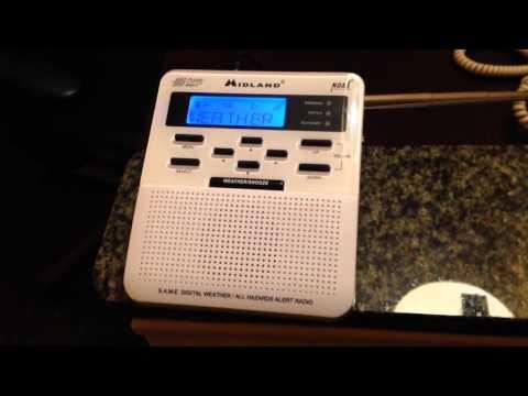 NOAA Weather Radio KZZ76 - Racine, WI CRS Broadcast Cycle