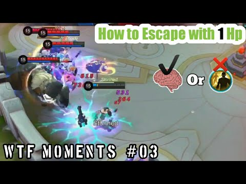 Mobile Legends Funny Moments Episode #03 | How to Escape with 1 hp