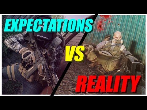 Escape From Tarkov Expectations Vs Reality