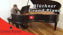 Blüthner Grand Piano - Living Pianos