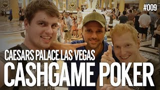 Cash Game in Caesars Palace | Vegas Trip 2k17 | #009