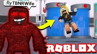 ROBLOX TROLLING MY WIFE as THE BEAST! (Flee the Facility)