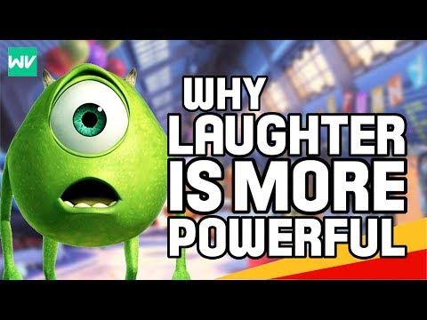 Why Is Laughter More Powerful Than Screams? - Monsters Inc Theory: Discovering Disney