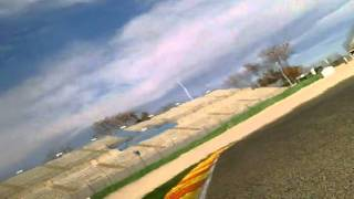 Valencia - 2012-01-05 - 750cc Race - onboard - Rear view