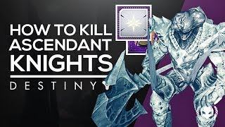 How To Kill the Ascendant Knights (Purification Ritual Bounty) - Destiny 2: Forsaken